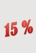 OFERTA 15% DESCUENTO