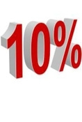 Web offer 10% discount